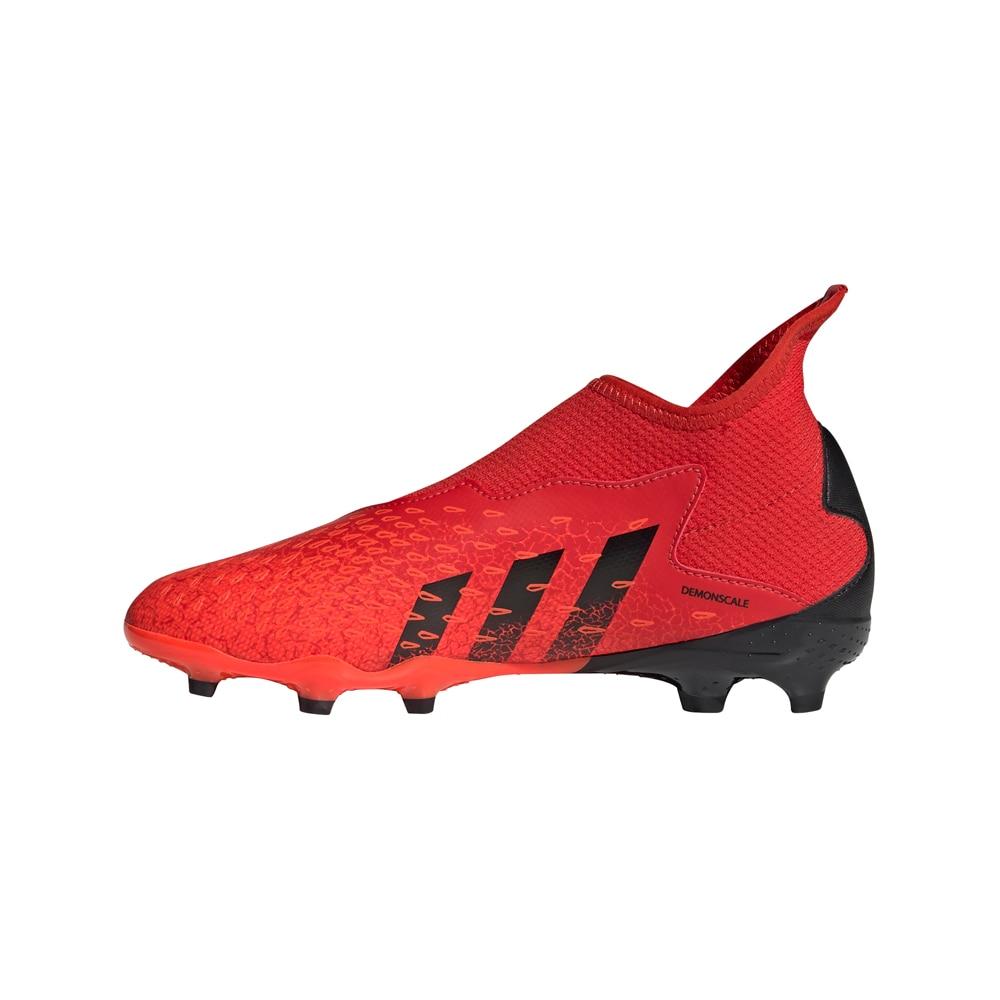 Adidas Predator Freak .3 Laceless FG/AG Fotballsko Barn Meteorite Pack