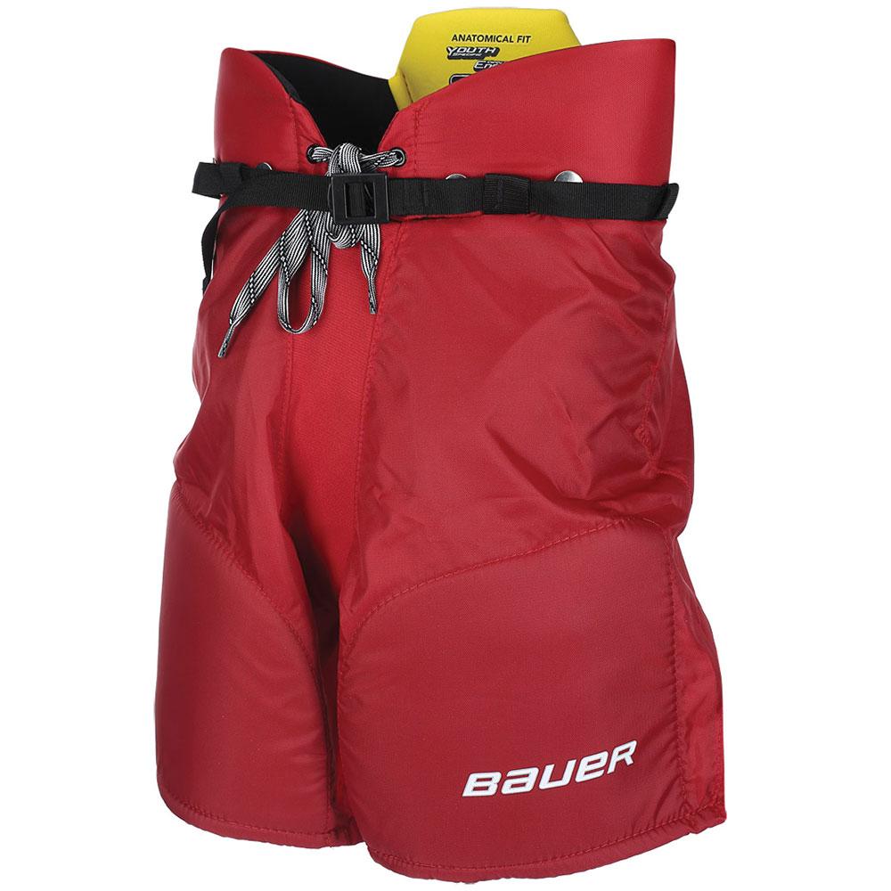 Bauer Supreme S170 Barn Hockeybukse Rød