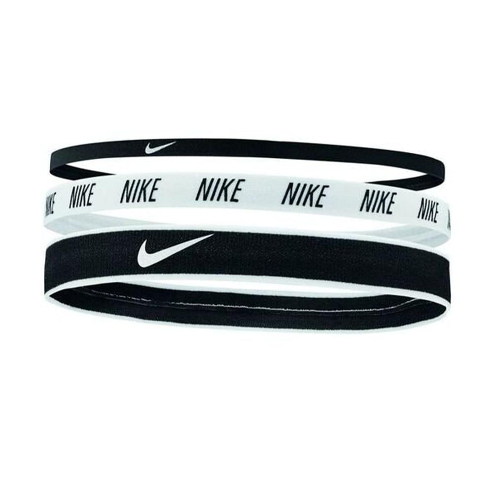Nike Hårbånd 3pk Sort/Hvit