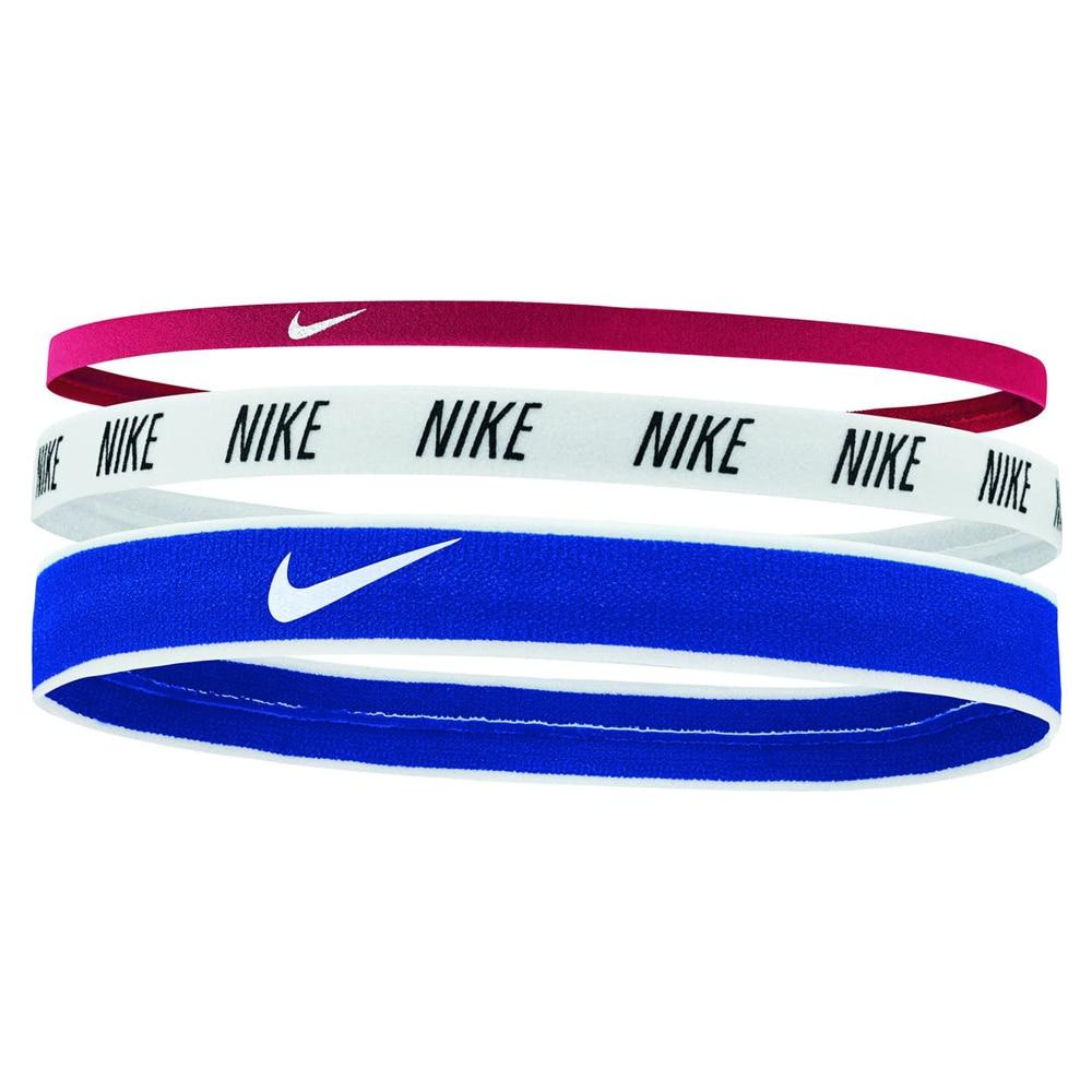 Nike Hårbånd 3pk Rosa/Hvit/Blå