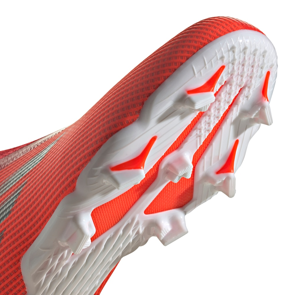 Adidas X Speedflow.3 Laceless FG/AG Fotballsko Barn Meteorite Pack