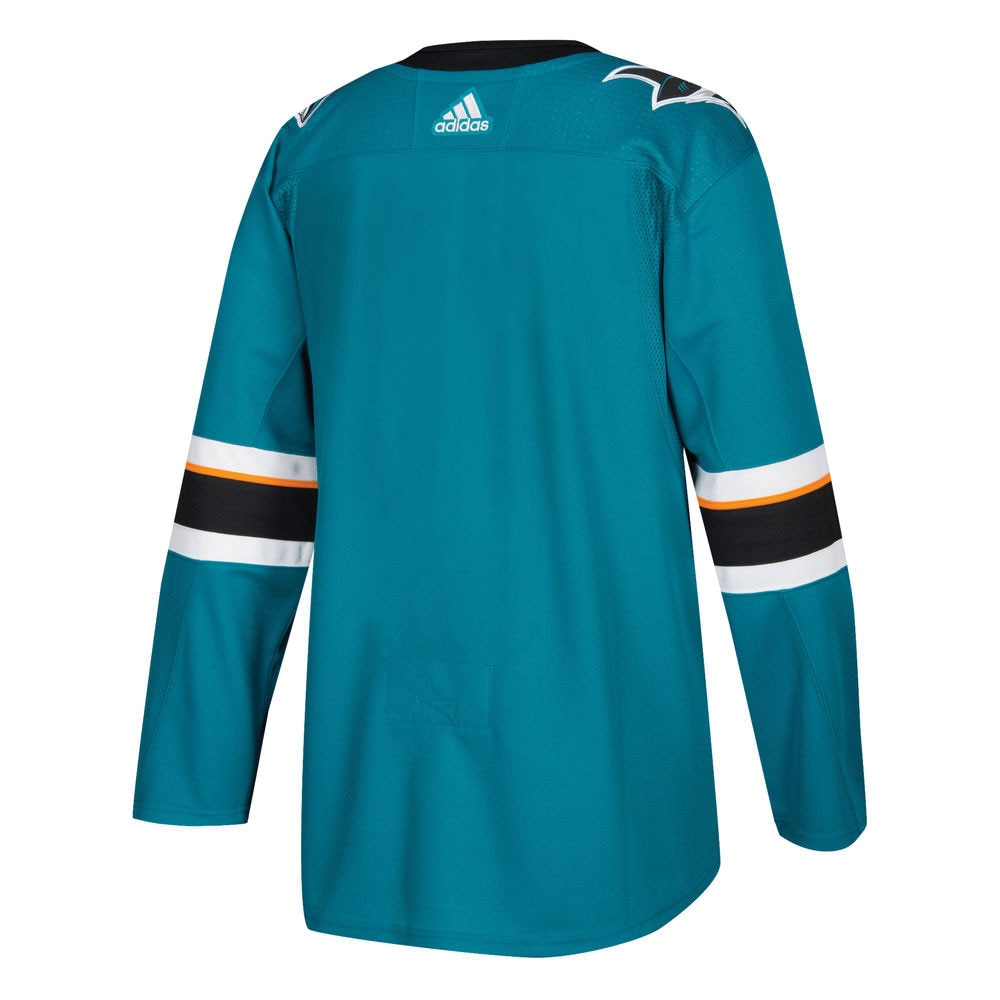 Adidas NHL Authentic Pro Hockeydrakt San Jose Sharks Hjemme