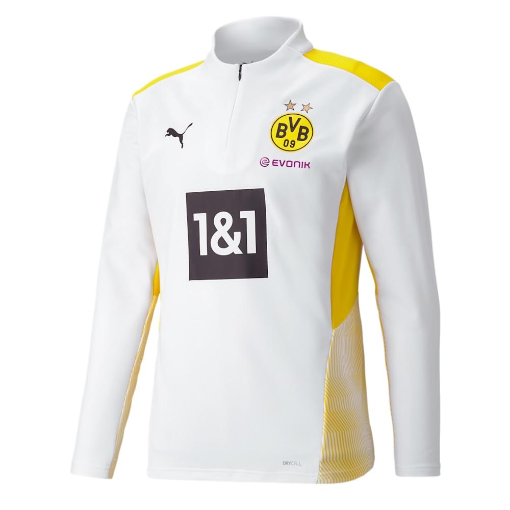 Puma BVB Dortmund Treningsgenser 21/22 Hvit