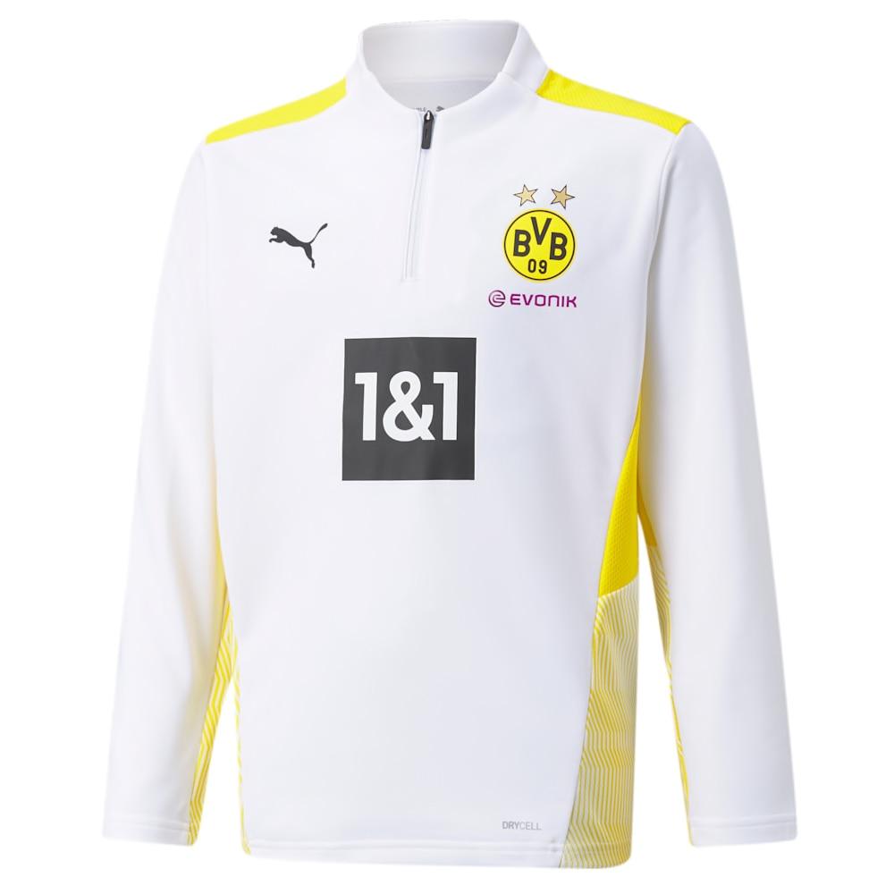 Puma BVB Dortmund Treningsgenser 21/22 Barn Hvit