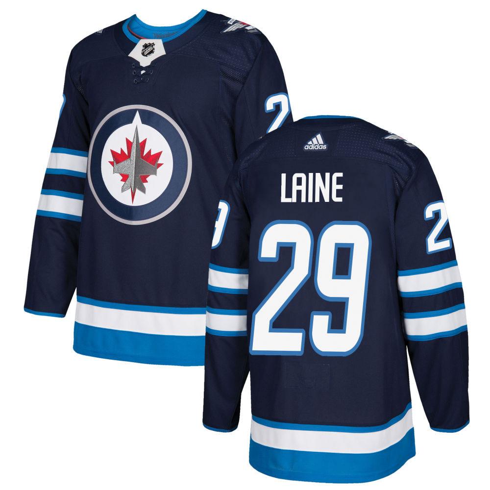 Adidas NHL Authentic Pro Hockeydrakt Winnipeg Jets Laine