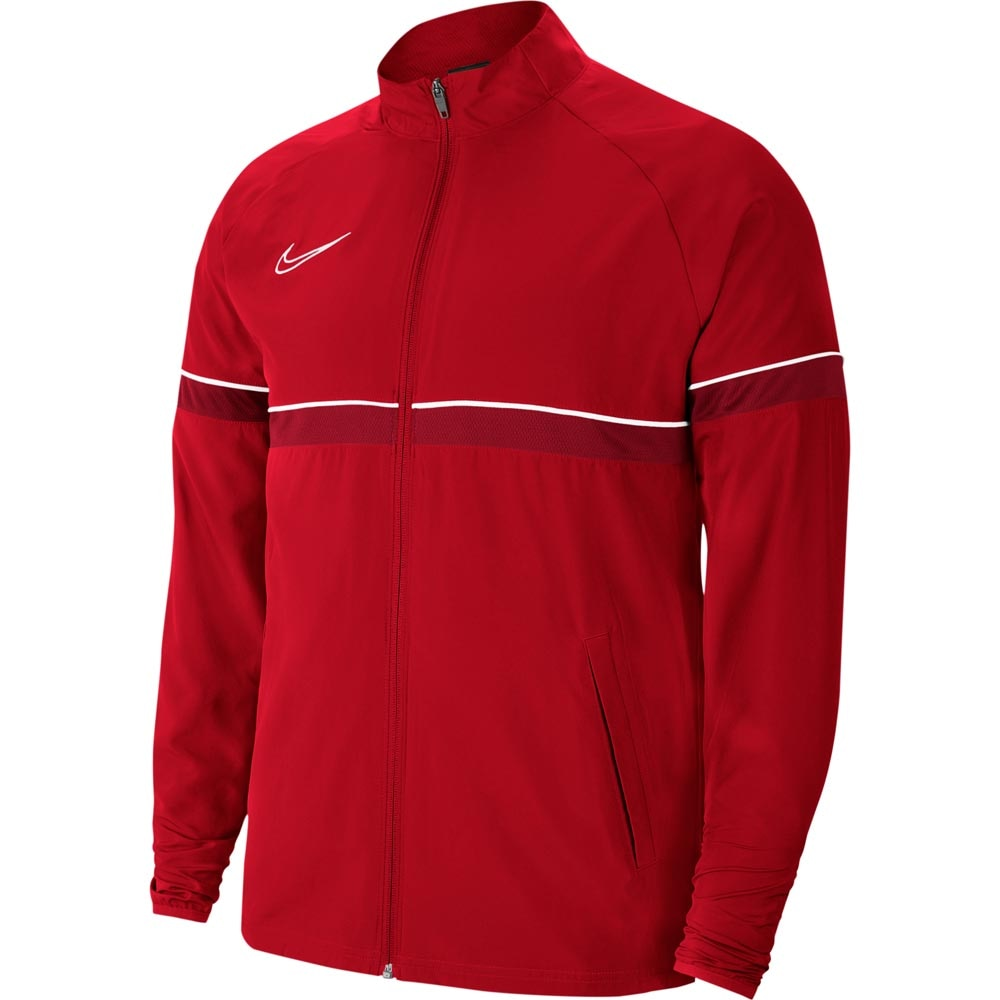 Nike Academy 21 Treningsjakke Woven Rød