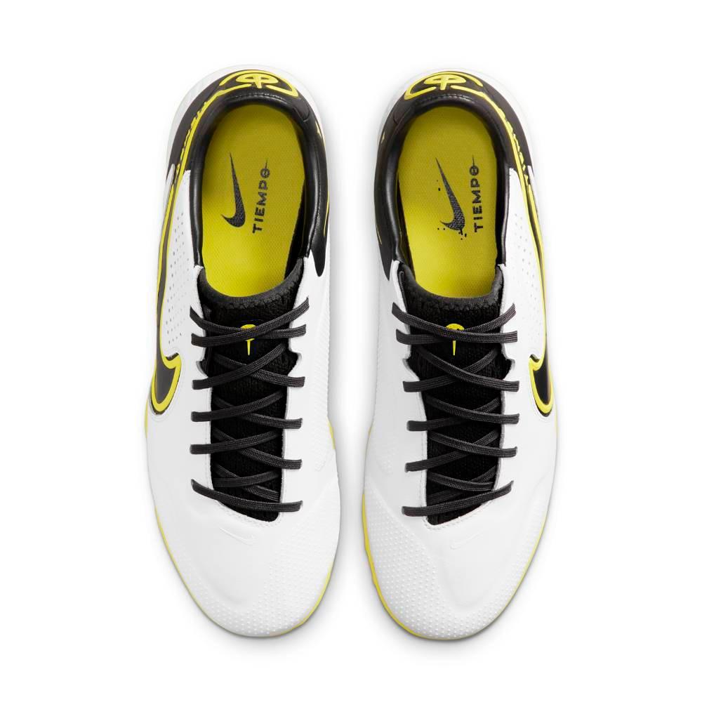 Nike Tiempo Legend 9 Pro TF Fotballsko Hvit/Gul