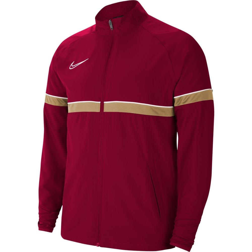Nike Academy 21 Treningsjakke Woven Barn Burgunder