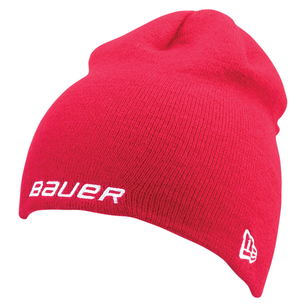 Bauer New Era Knit Toque Lue Rød