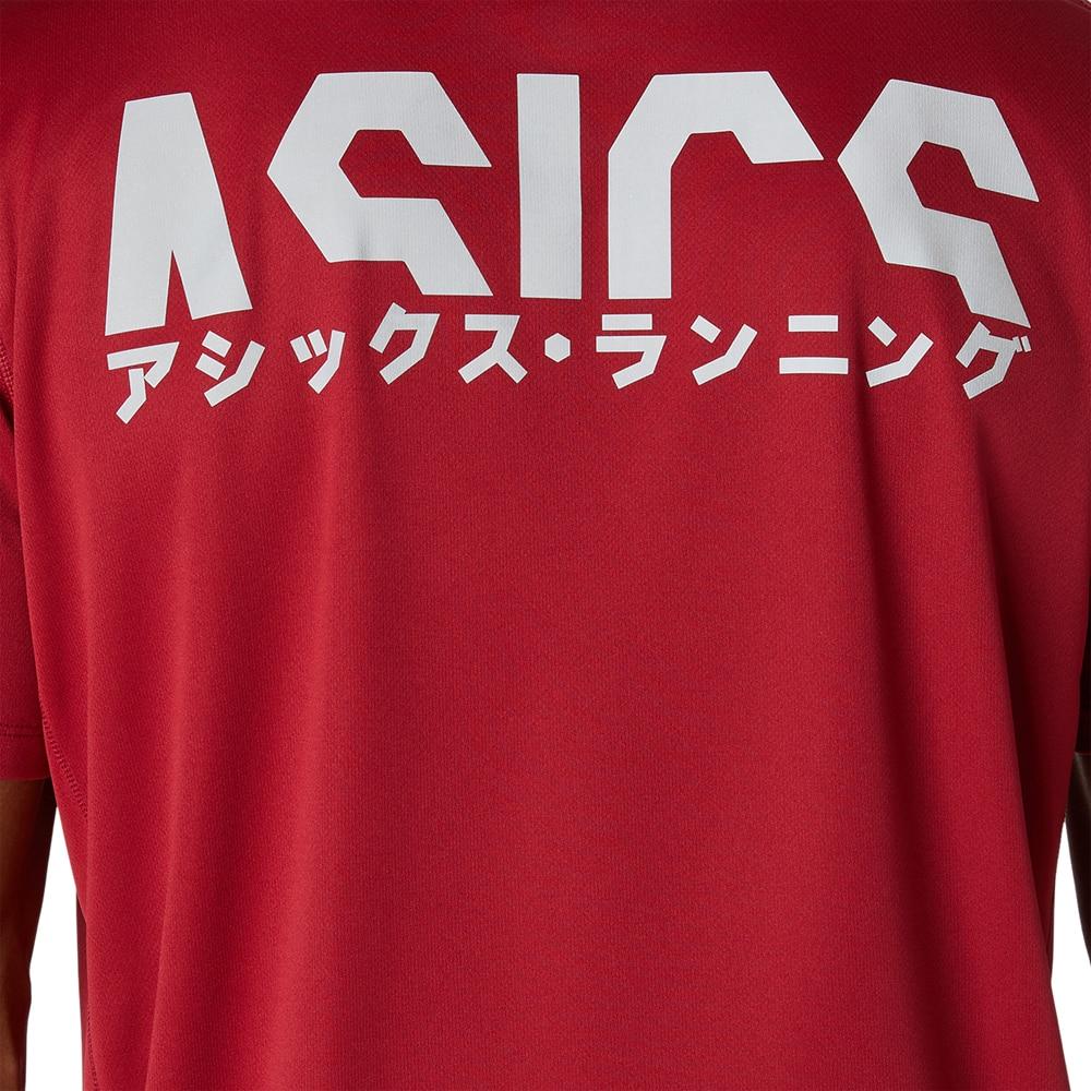 Asics Katakana Løpetrøye Herre Rød