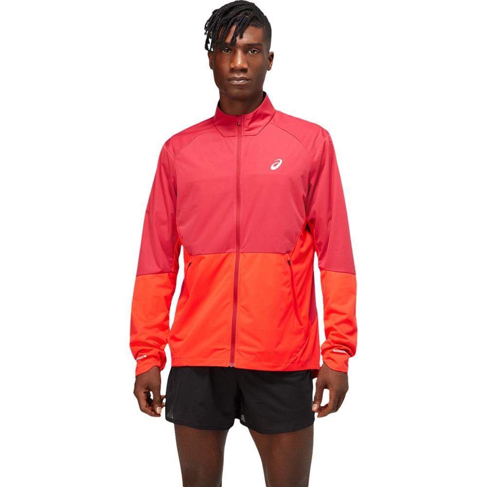 Asics Ventilate Løpejakke Rød/Oransje