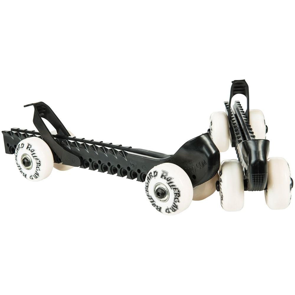 Rollergard Kalosjer med hjul Svart