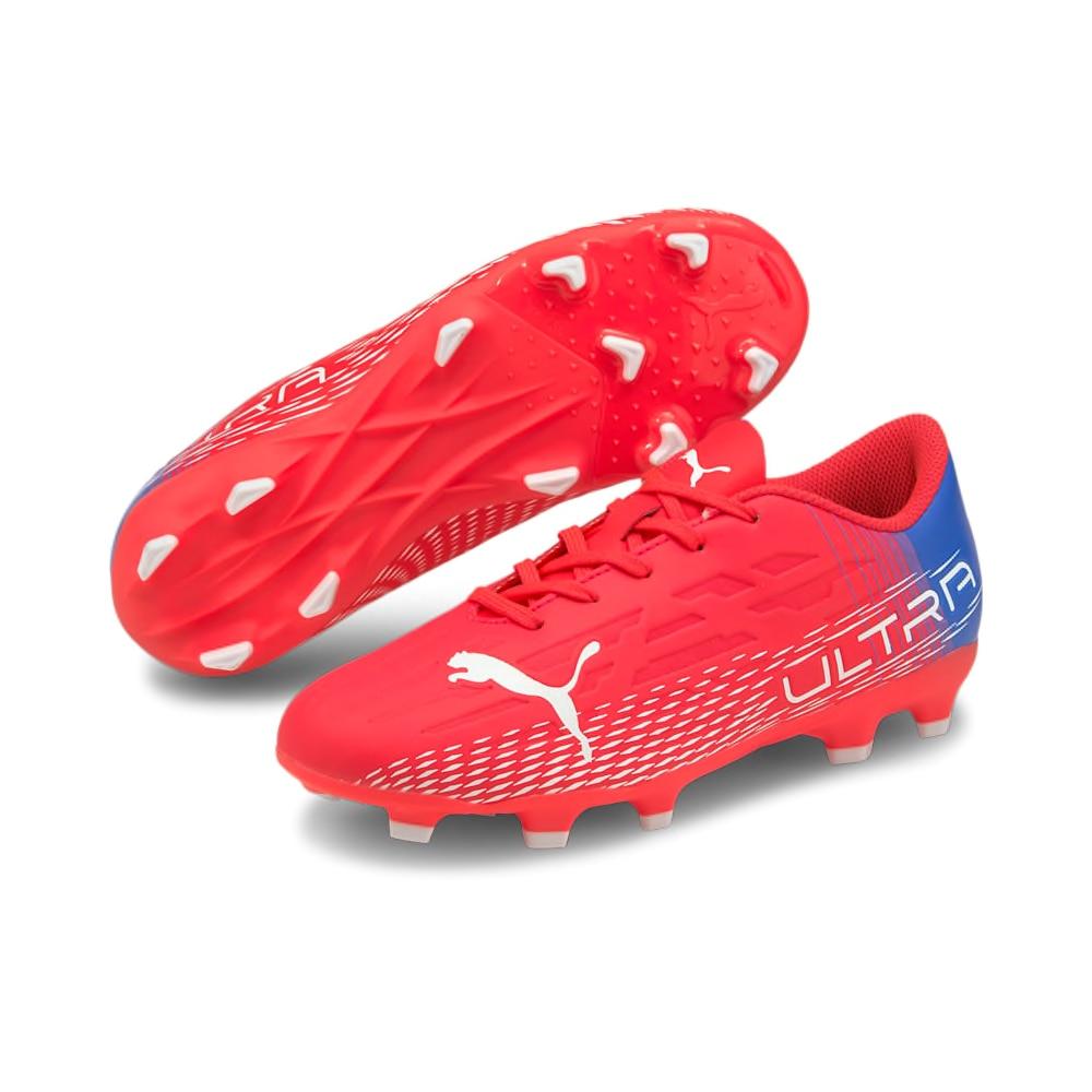 Puma ULTRA 4.3 FG/AG Fotballsko Barn Faster Football Pack