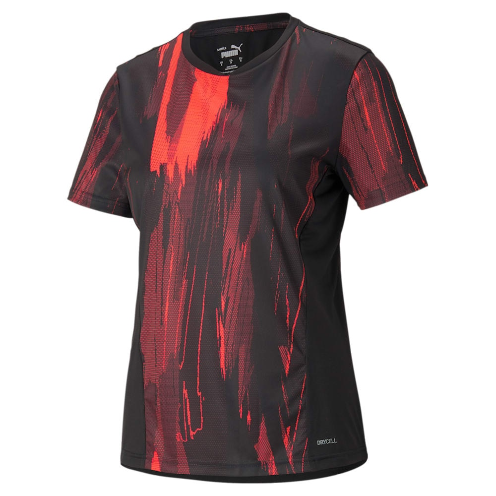 Puma IndividualCup Graphic Treningstrøye Dame Faster Football Pack