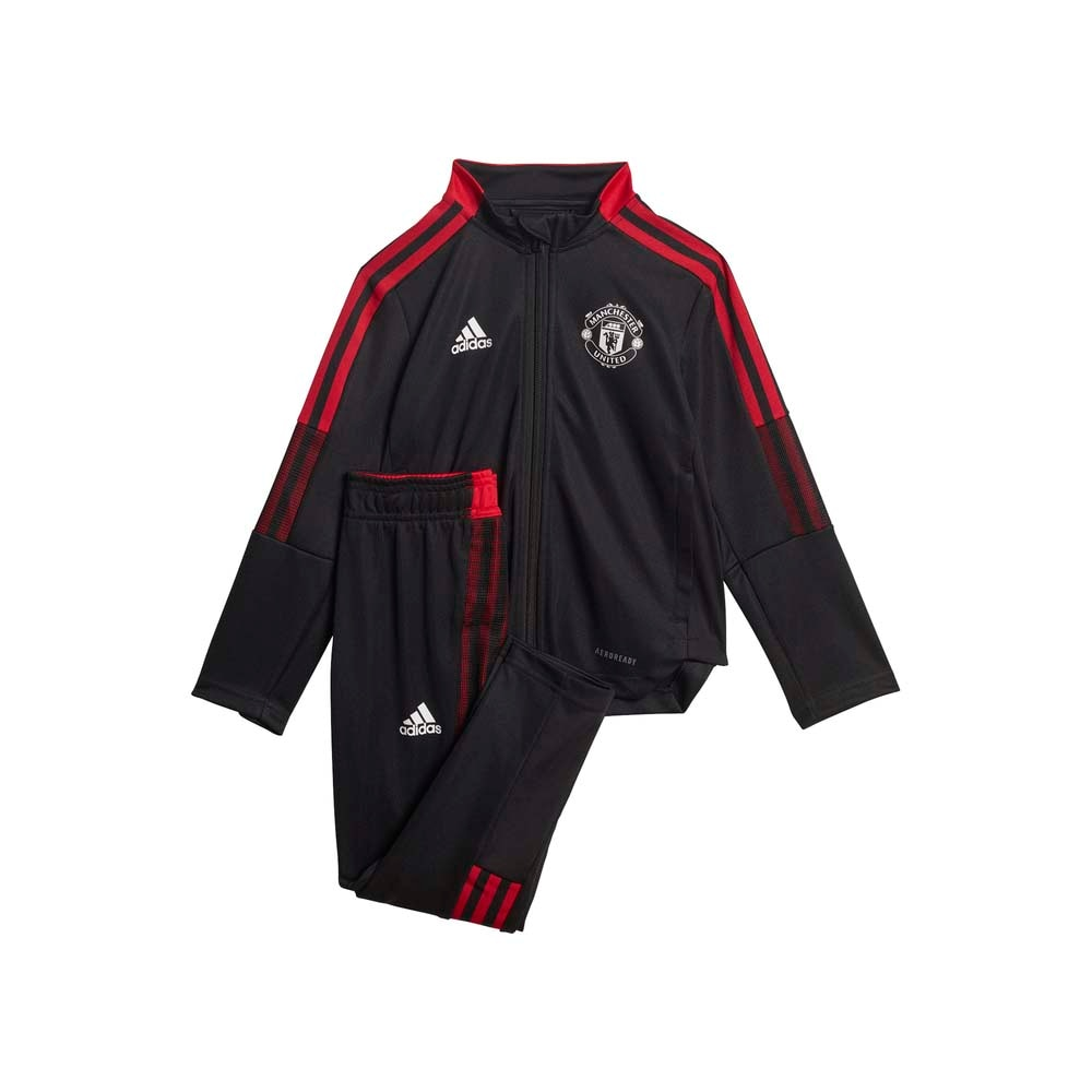 Adidas Manchester United Treningsdress 21/22 Baby Sort