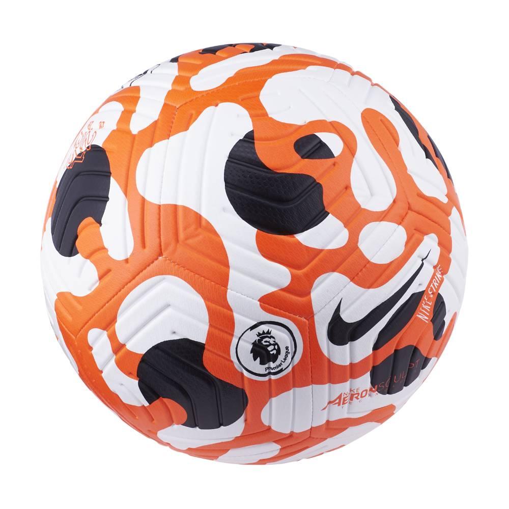 Nike Premier League Fotball 21/22 Hvit/Oransje