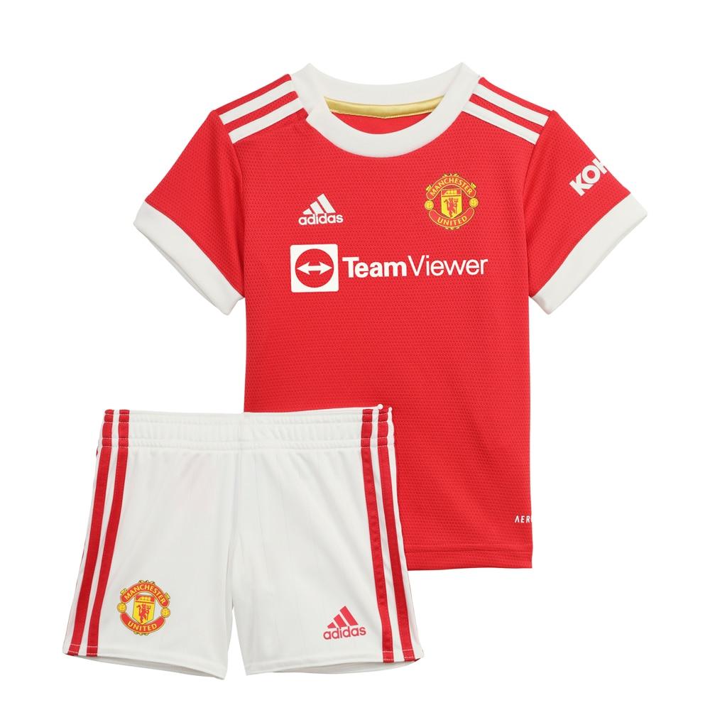 Adidas Manchester United Draktsett 21/22 Hjemme Baby