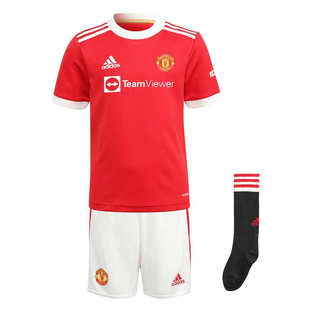 Adidas Manchester United Draktsett 21/22 Hjemme Barn