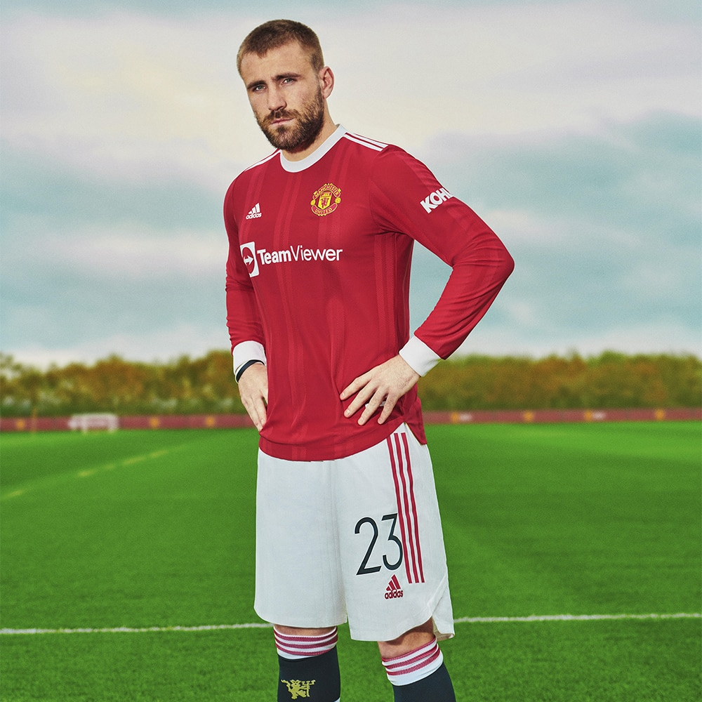 Adidas Manchester United Fotballdrakt 21/22 Hjemme Dame