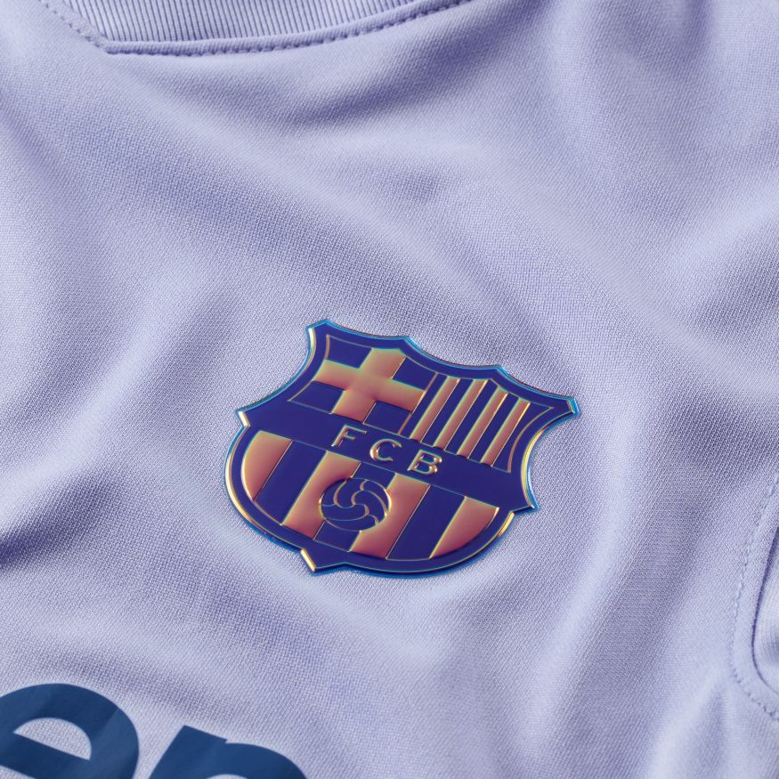 Nike FC Barcelona Fotballdrakt 21/22 Borte Barn