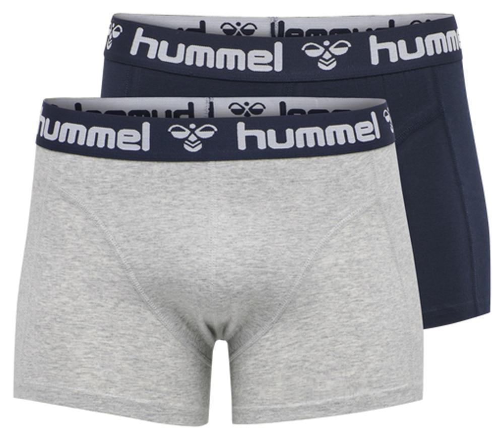 Hummel HMLMARS 2pack Boxer Grå/Marine