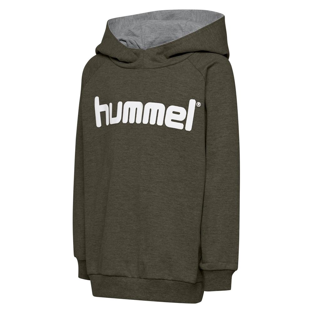 Hummel Hmlgo Logo Hoodie Hettegenser Barn Grønn