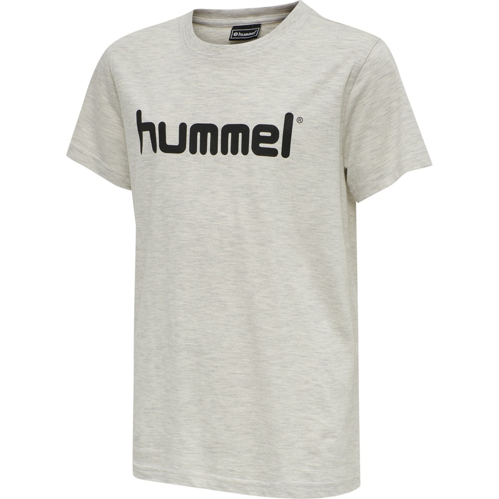 Hummel Hmlgo Logo T-Skjorte Barn Grå