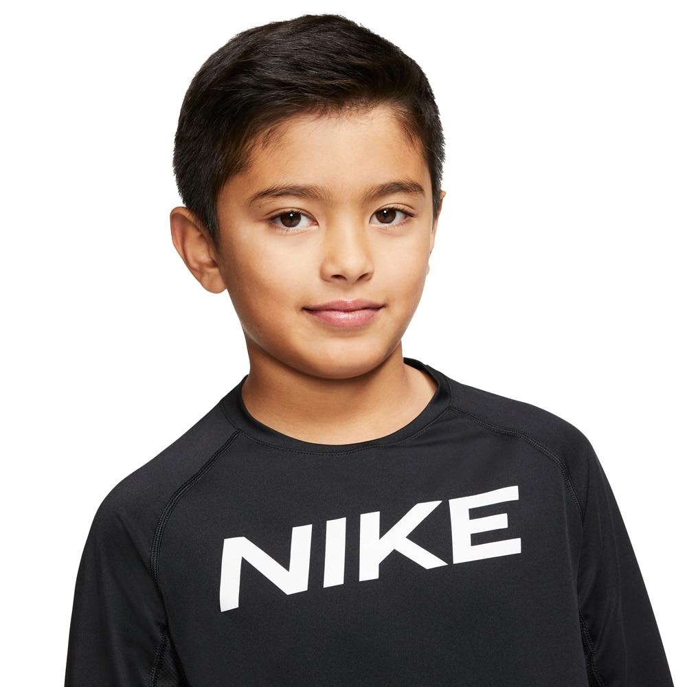 Nike Pro Langermet Baselayer Barn Sort