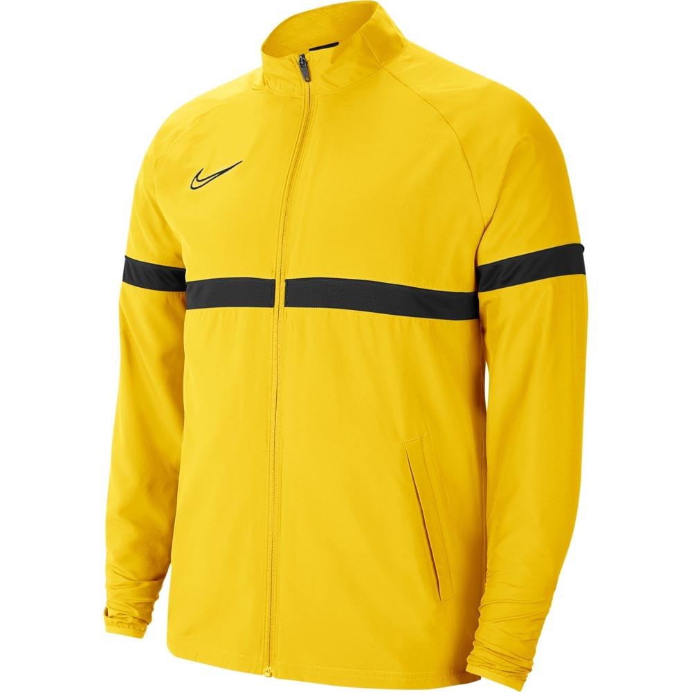 Nike Academy 21 Treningsjakke Woven Barn Gul