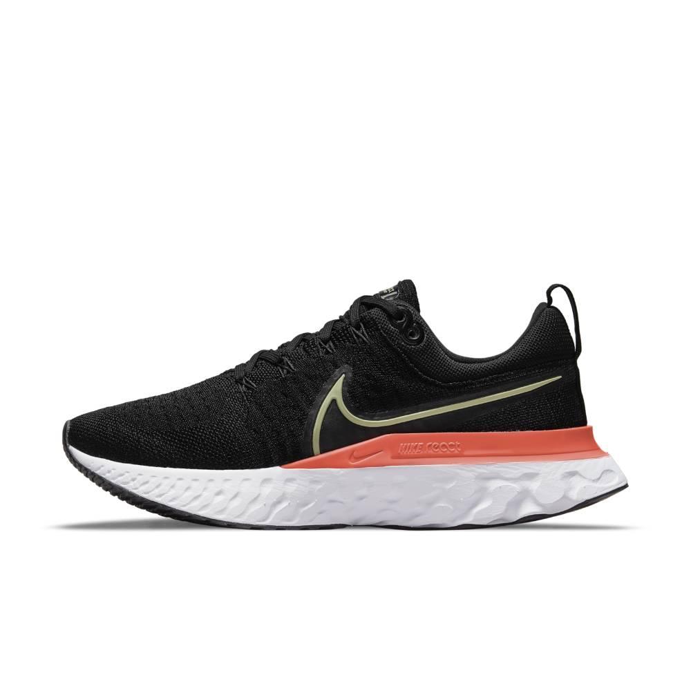 Nike React Infinity Run Flyknit 2 Joggesko Dame Sort/Oransje