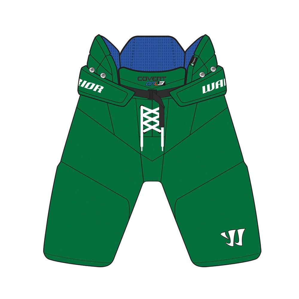 Warrior Covert QRL3 Custom Hockeybukse Grønn
