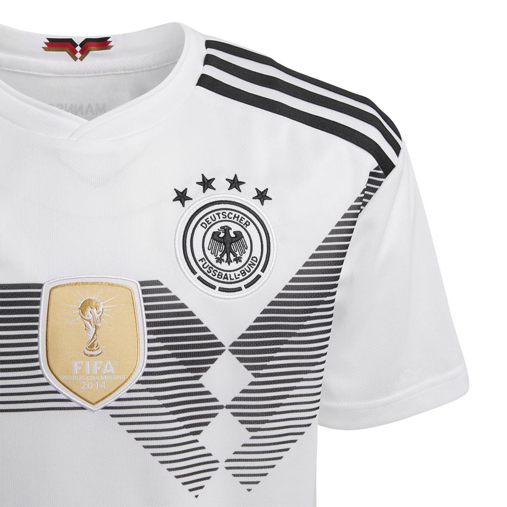 Adidas Tyskland Fotballdrakt VM 2018 Hjemme Barn