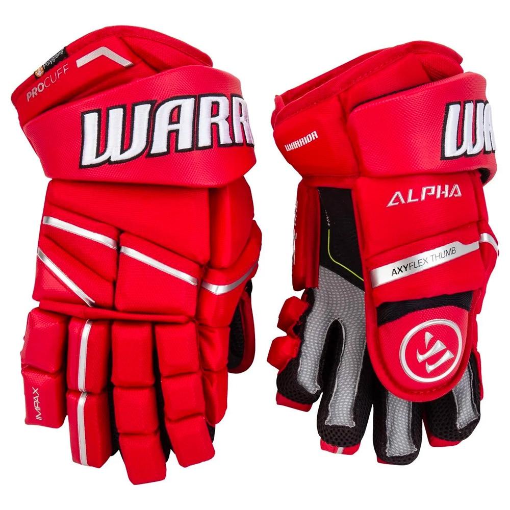 Warrior Alpha LX PRO Hockeyhanske Rød