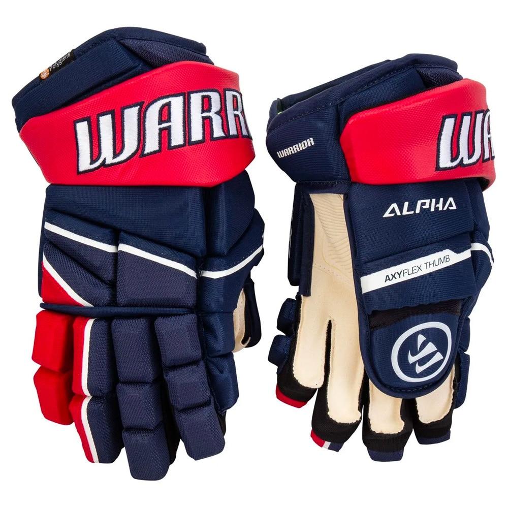 Warrior Alpha LX 20 Hockeyhanske Marine/Rød/Hvit