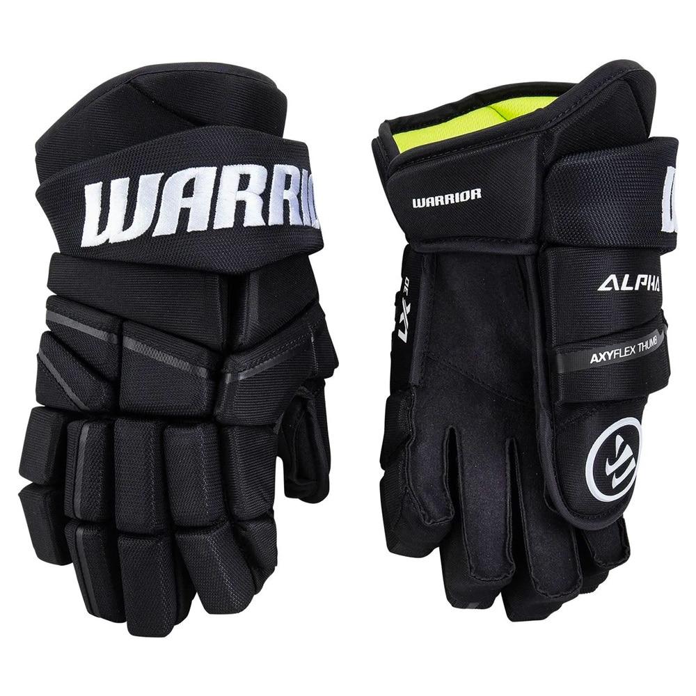 Warrior Alpha LX 30 Hockeyhanske Svart