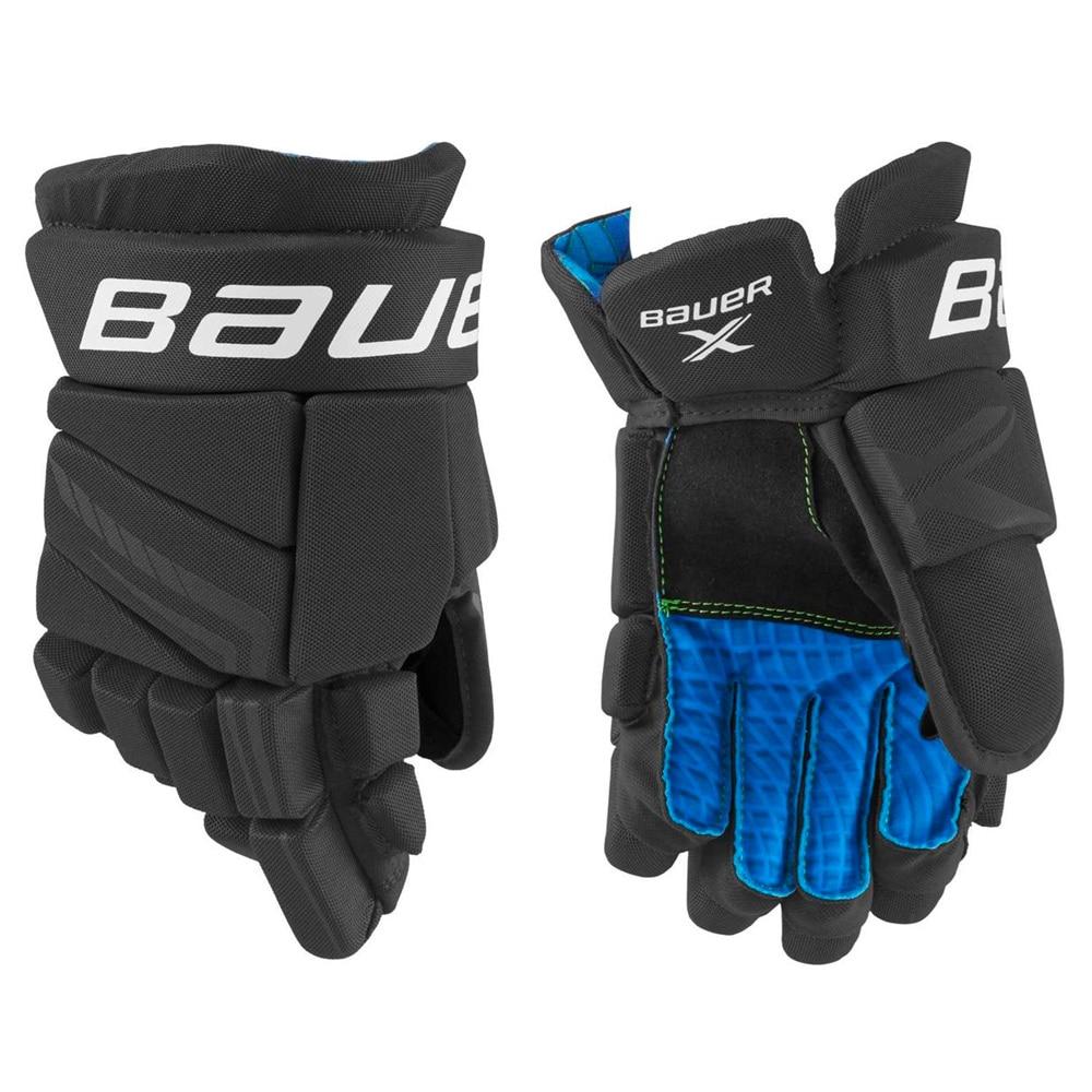 Bauer X Junior Hockeyhanske Svart