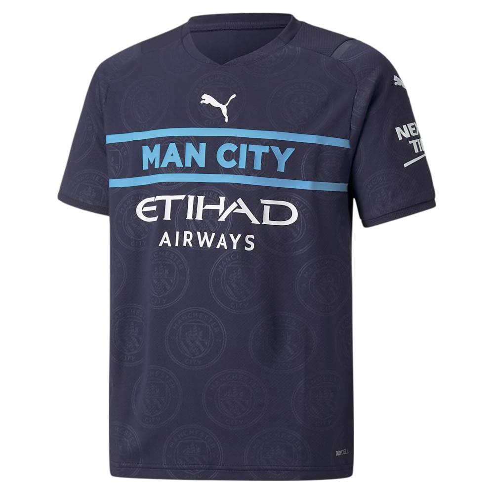 Puma Manchester City Fotballdrakt 21/22 3rd Barn