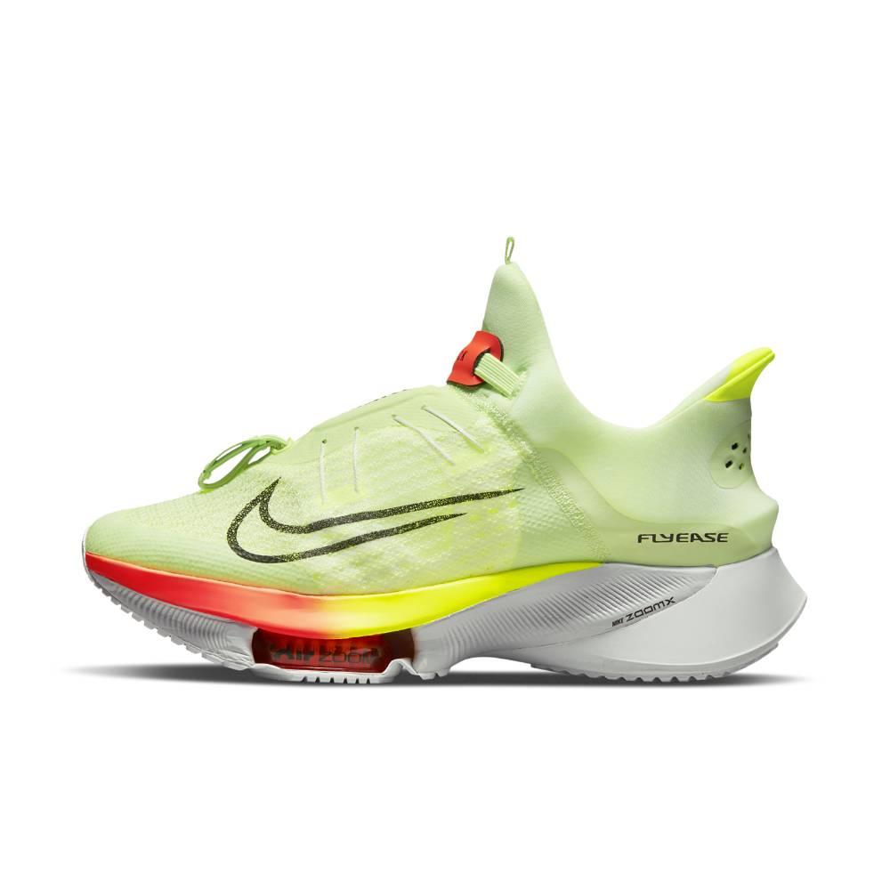 Nike Air Zoom Tempo Next% FlyEase Flyknit Joggesko Herre Volt