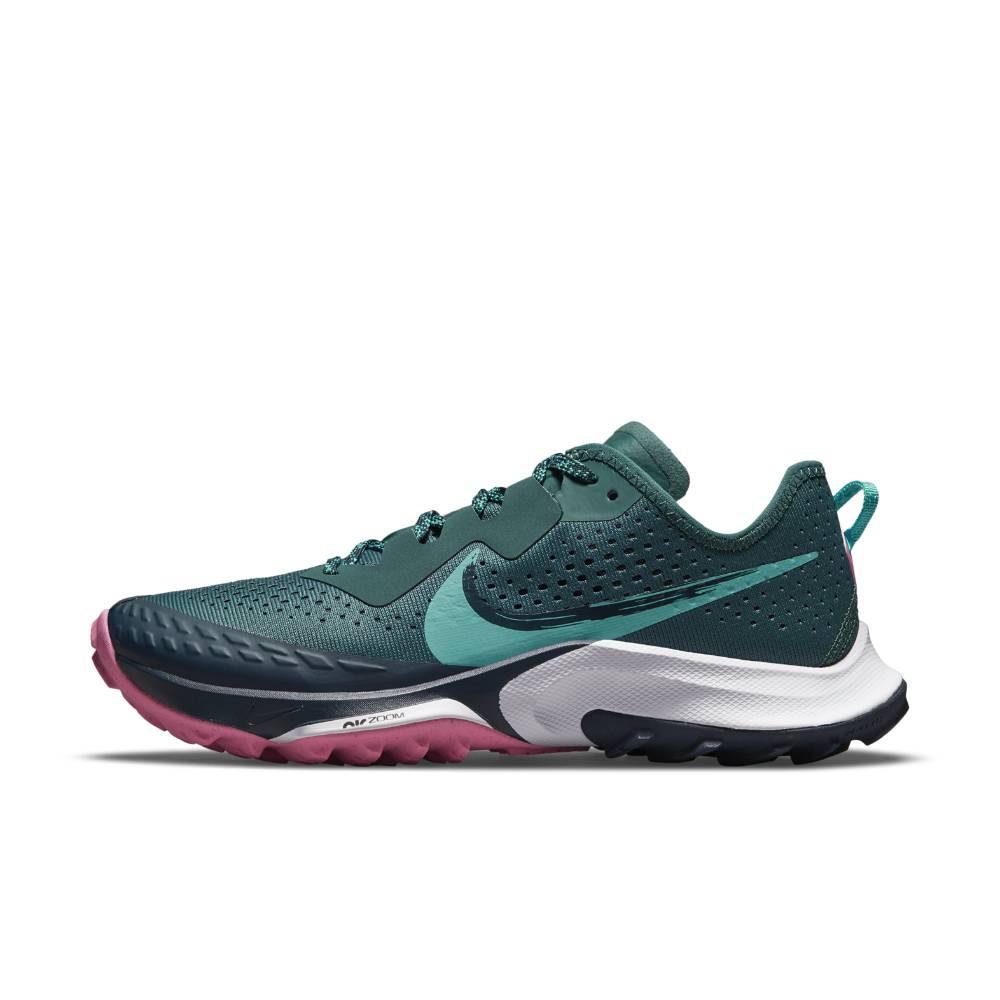 Nike Air Zoom Terra Kiger 7 Joggesko Dame Havgrønn
