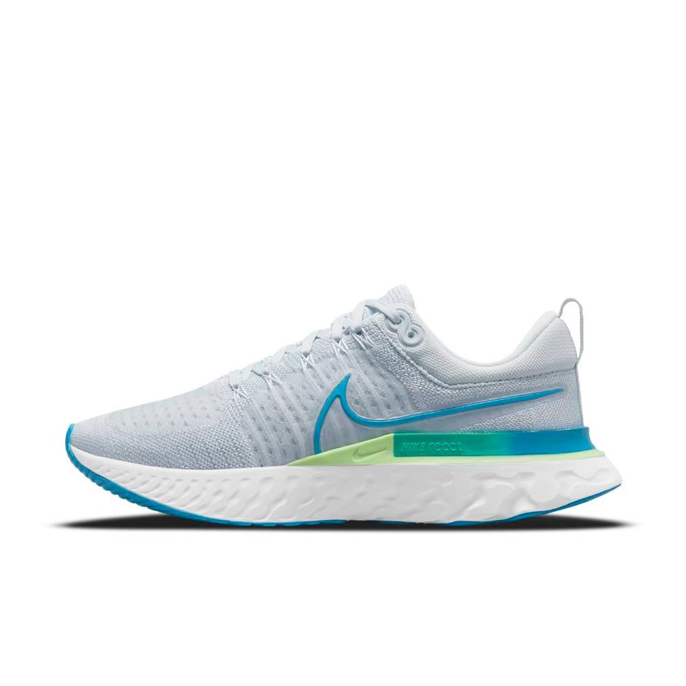 Nike React Infinity Run Flyknit 2 Joggesko Herre Lyseblå
