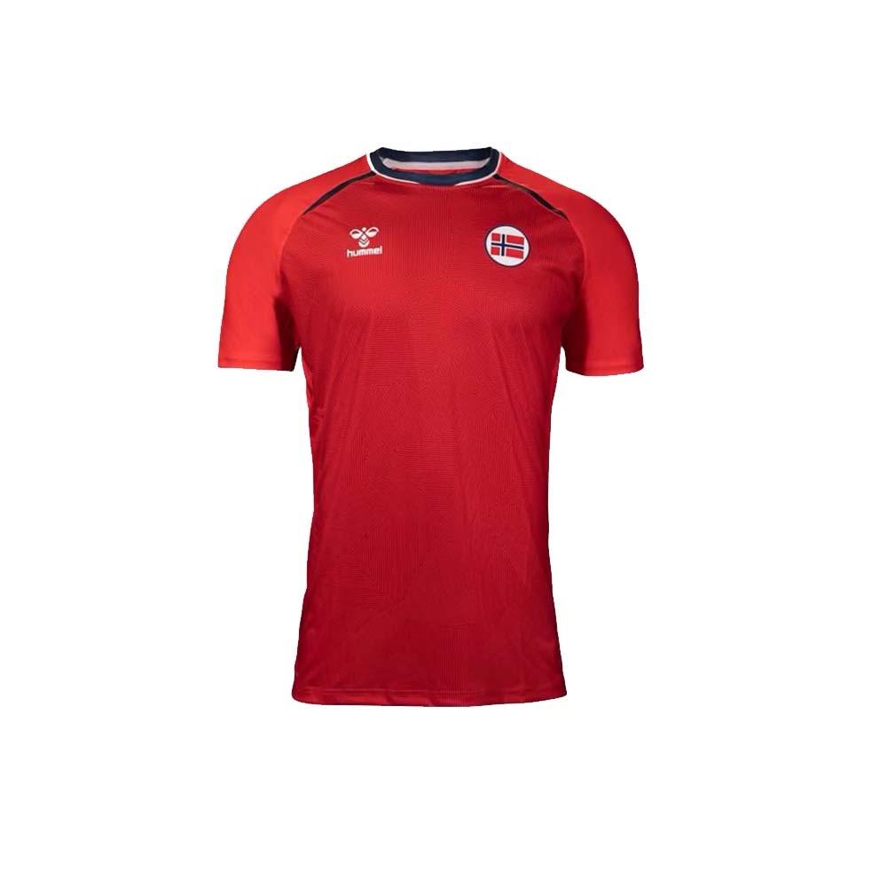 Hummel Norge Håndballdrakt OL 2021 Hjemme Barn