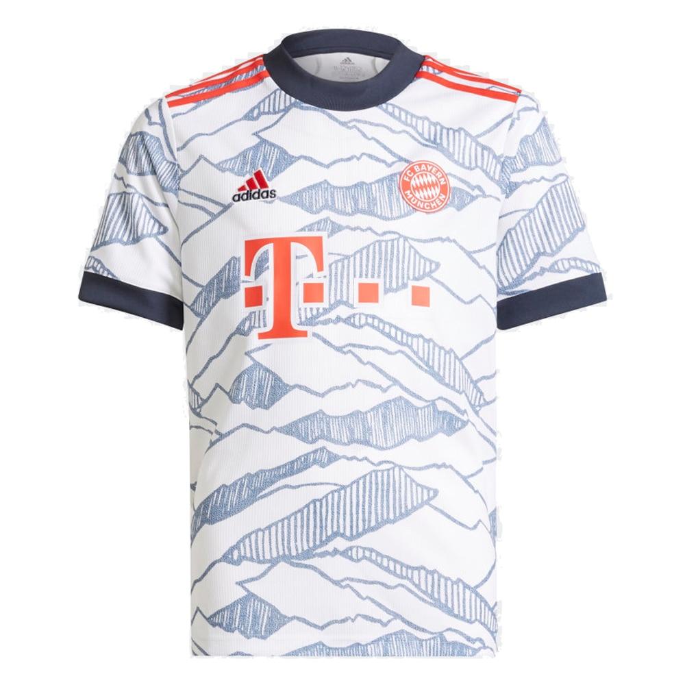 Adidas FC Bayern München Fotballdrakt 21/22 3rd Barn