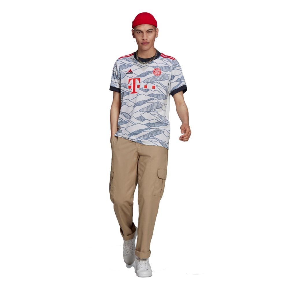 Adidas FC Bayern München Fotballdrakt 21/22 3rd