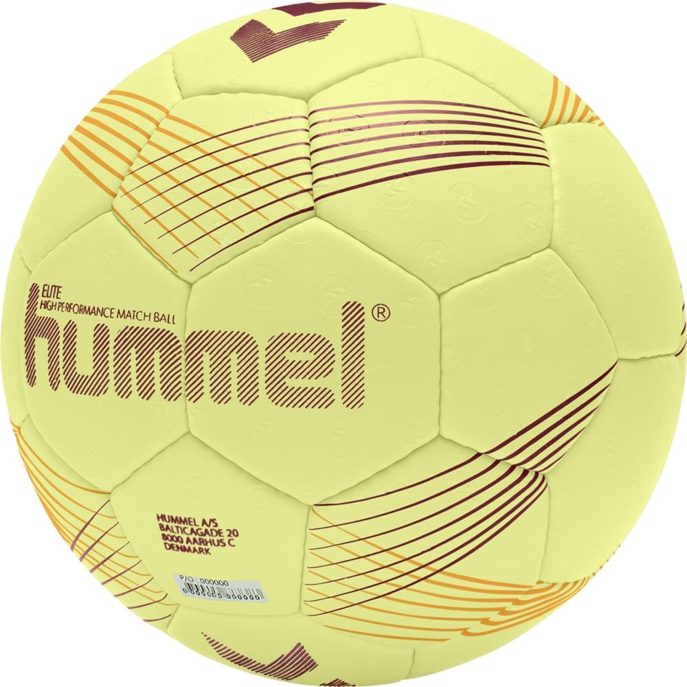 Hummel Elite Håndball Matchball Gul