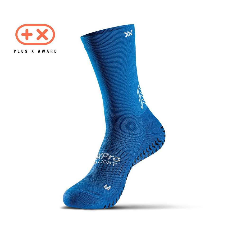 SOXPro Ultra Light Grip Fotballstrømper Blå