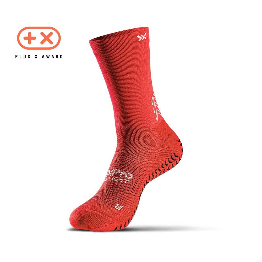 SOXPro Ultra Light Grip Fotballstrømper Rød