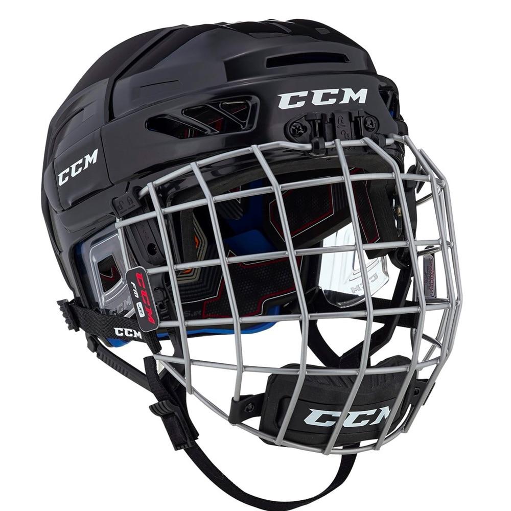 Ccm FitLite 3DS Junior Combo Hockeyhjelm Svart