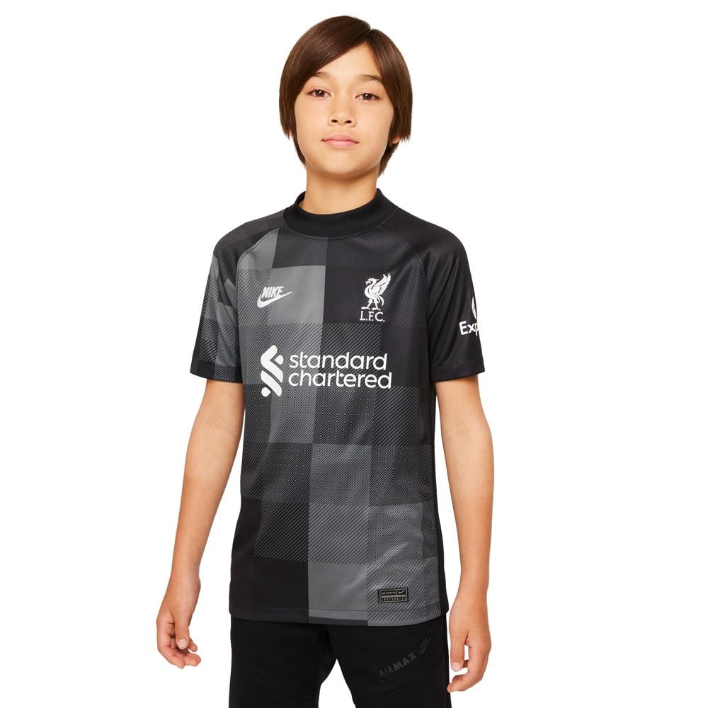 Nike Liverpool FC Keeperdrakt 21/22 Borte Barn