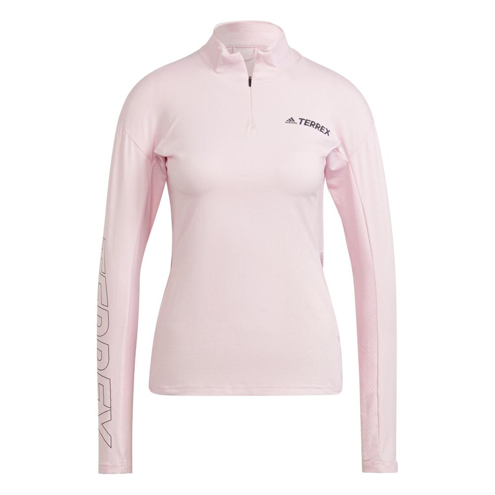 Adidas Terrex Xperior Langermet Trøye Dame Rosa