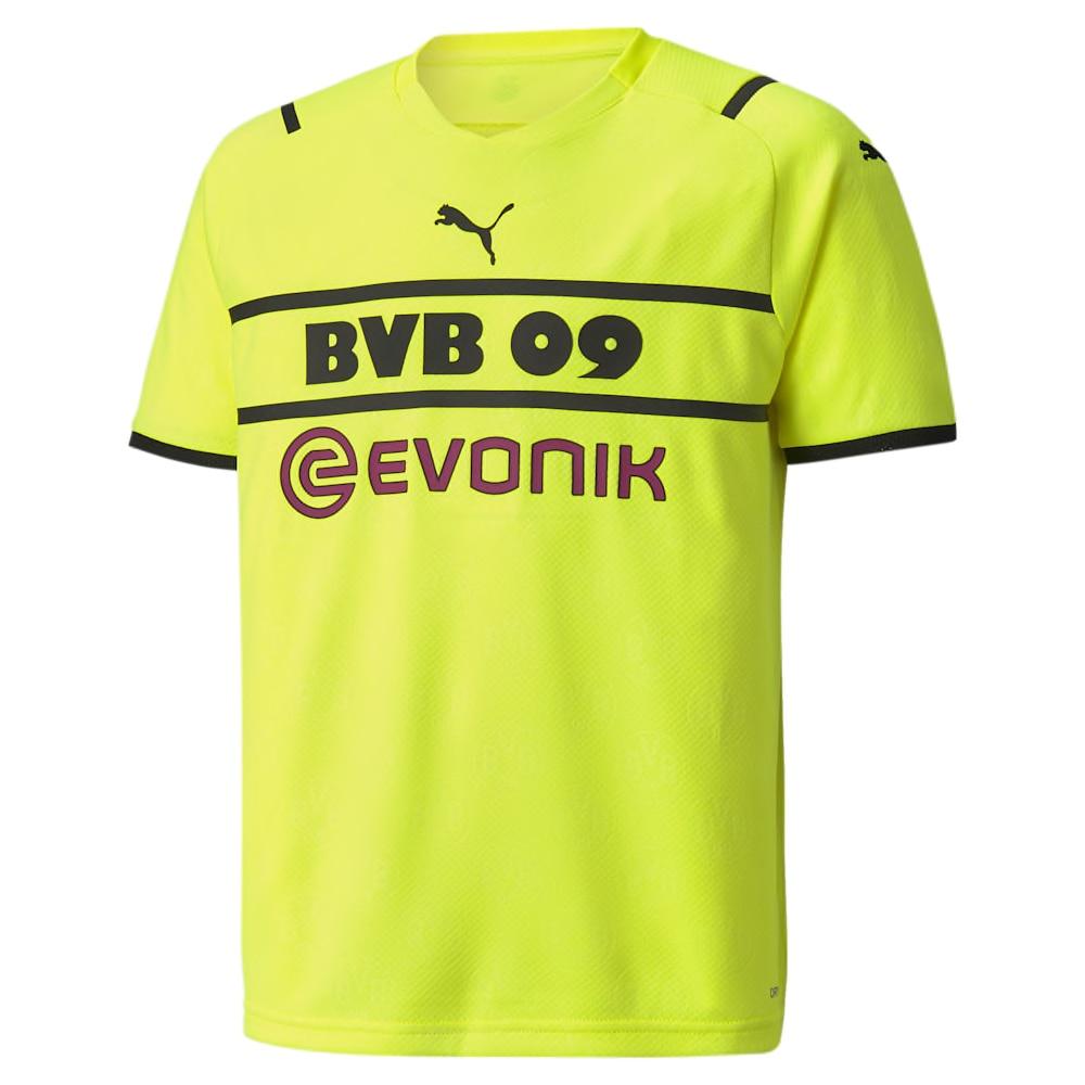 Puma BVB Dortmund Fotballdrakt 21/22 Cup Barn